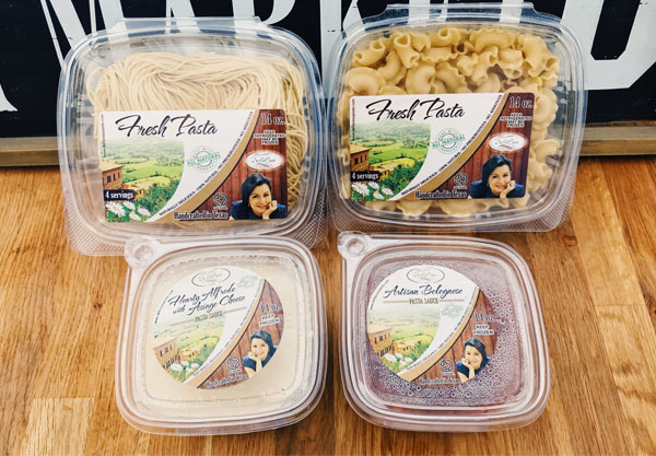 Pasta 'Pick Four' package deal